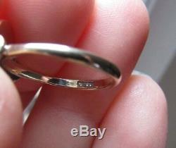 Antique Georgian or Victorian Carving Sardonyx Star Diamond 375ct. 9k Gold Ring