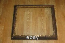 Antique Ornate Victorian Carved Wood Gold Frame 29.25 X 25.25 #1057