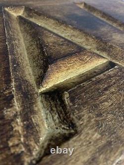 Antique Victorian Royal Trade Sign Carved Reverse Cut Wooden Gold Gilt Shop Prop