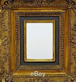 Antique Vintage Gold Gilt Ornate Gesso Carved Frame Rococo Victorian Wooden AVGG