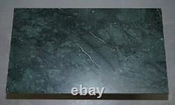 Vintage Green Marble Top With Hand Carved Gold Giltwood Base Coffee Table