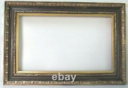 Vintage Victorian Hand Carved Gilded / Wood Frame For Painting 20 X12 Inch 1 Of2